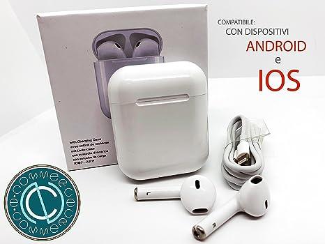 TWS i8 - Auriculares Bluetooth 4.2 con micrófono para iPhone 7, 8, X.
