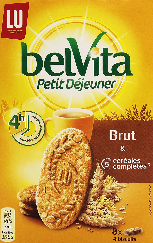 Belvita Galletas Cereales Para El Desayuno Completo Bruto 5 ...