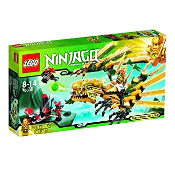 LEGO NINJAGO 70666 Goldener Drache NEU und OVP