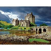 Buffalo Games Majestic Castles Eilean Donan, 750-Piece Jigsaw Puzzle