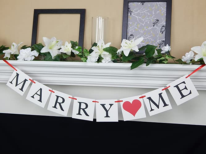 Amazon Will You Marry Me Proposal Banner Will You Marry Me