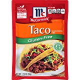 McCormick Gluten Free Taco Mix, 1.25 oz, Pack of 12