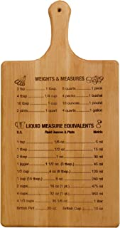 """product image for Catskill Craftsmen Large Measurements and Liquid Equivalents Paddle, 11"""" x 21"""" x 3/4"""""""