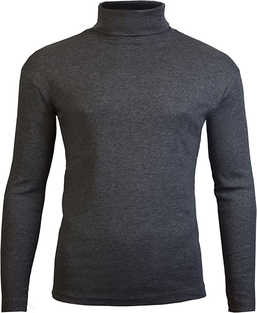 Camiseta de manga larga y cuello alto para hombre, de Brody ...