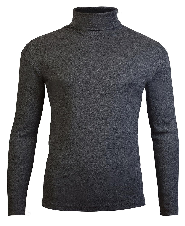 3352de7b23c Brody & Co. Mens Roll Necks Polo Neck Tops Exclusively Plain Winter Ski  Golf Quality Stretch Jersey Cotton