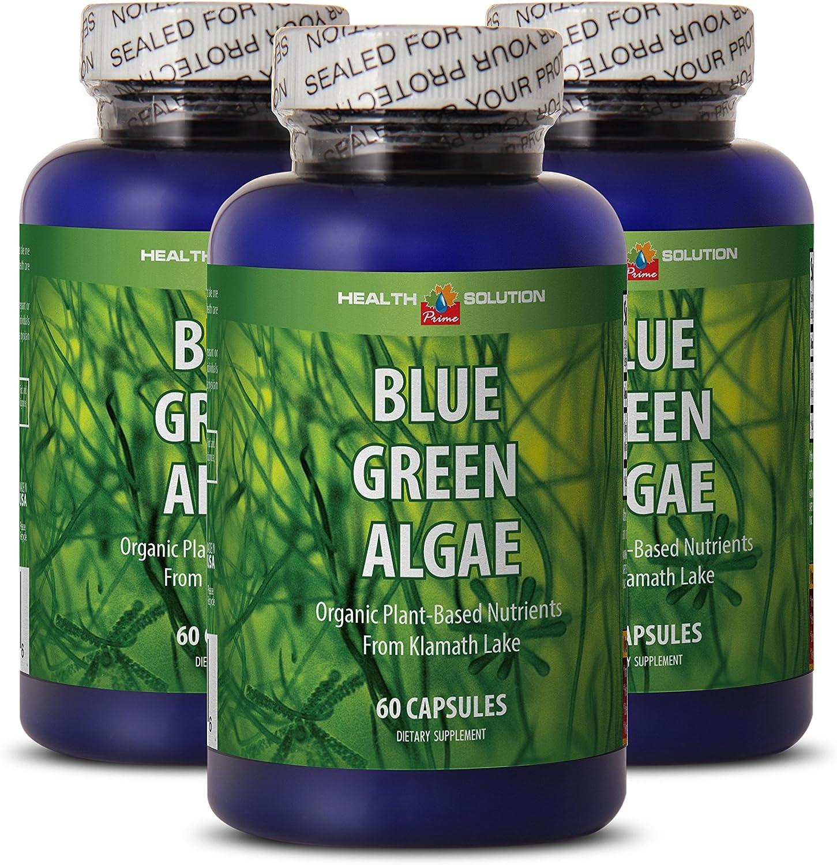 Klamath blue green algae organic – BLUE GREEN ALGAE – enhance weight loss 3 bottles