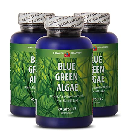 Klamath blue green algae organic – BLUE GREEN ALGAE – enhance weight loss 3 bottles