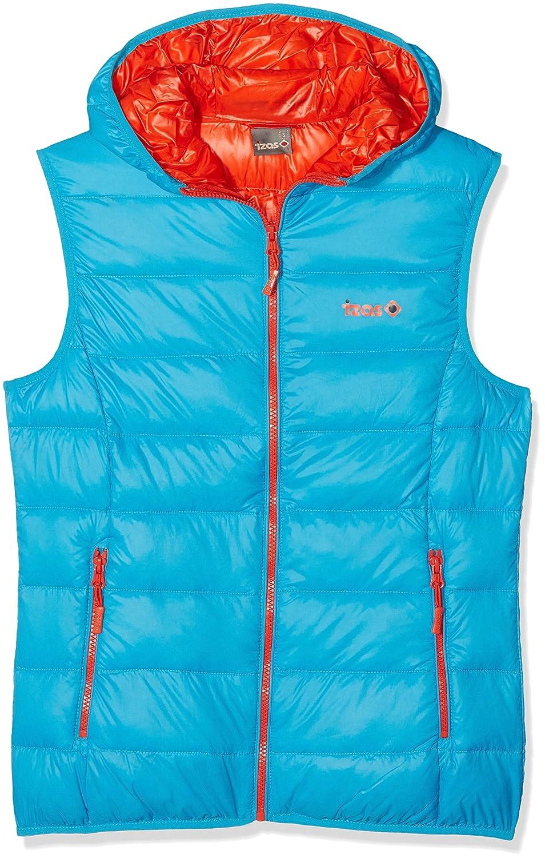 Izas Tahoe Herren Weste, Blau/Orange, Größe XL