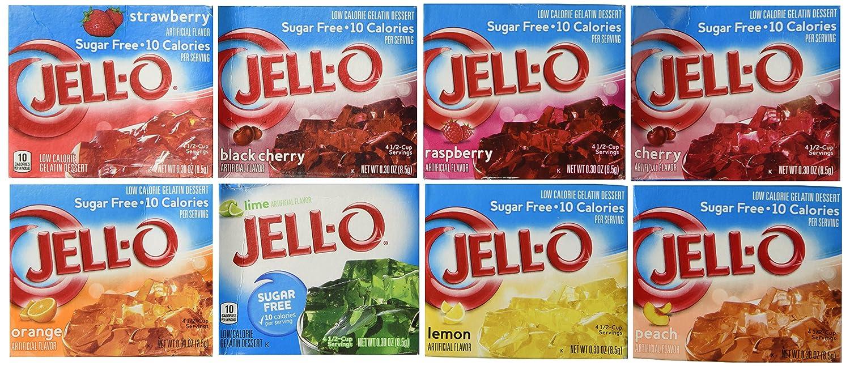 Jell-O Sugar Free Gelatin Sampler
