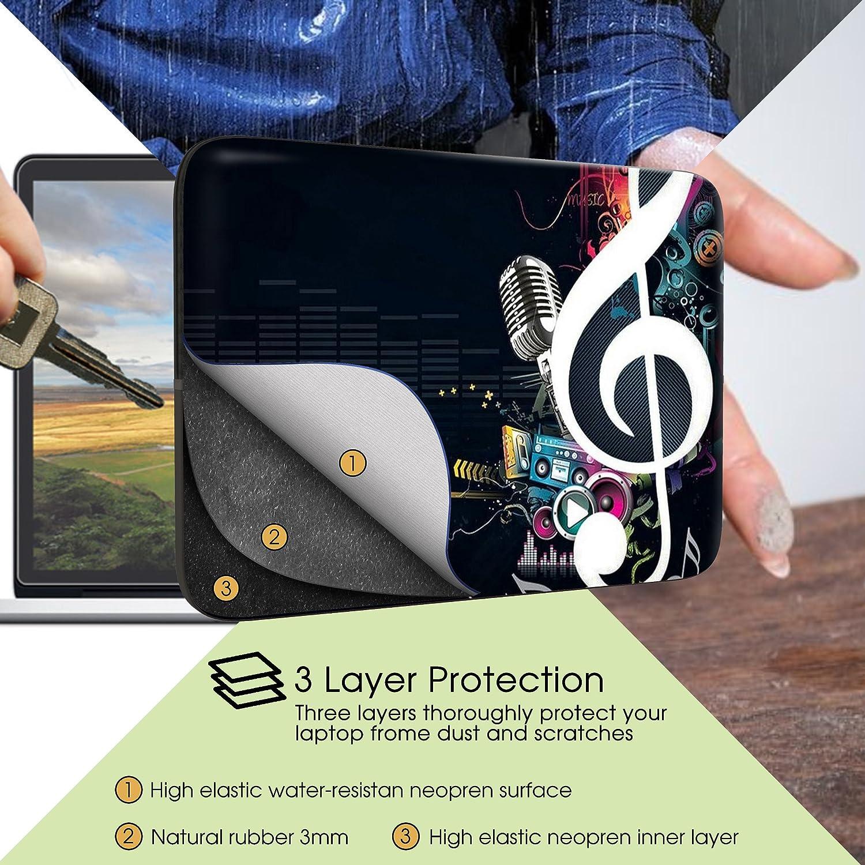 Sidorenko 15-15,6 Pollici Laptop Custodia 42 Modelli Disponibili Borsa per Laptop in Neoprene