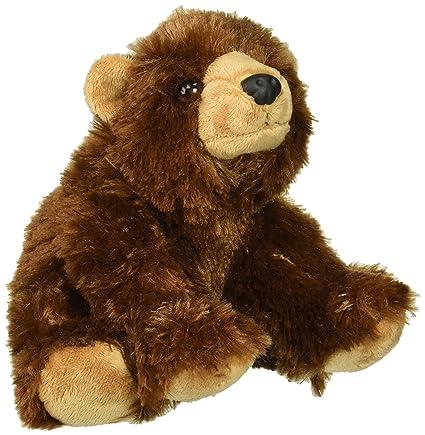 947f556c19b1 Amazon.com  Wild Republic Brown Bear Plush