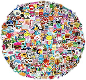 500 PCS Stickers Pack (50-500Pcs/Pack), Colorful Waterproof Stickers for Flask, Laptop, Phone, Water Bottle, Cute Aesthetic Vinyl Stickers for Teens, Girls