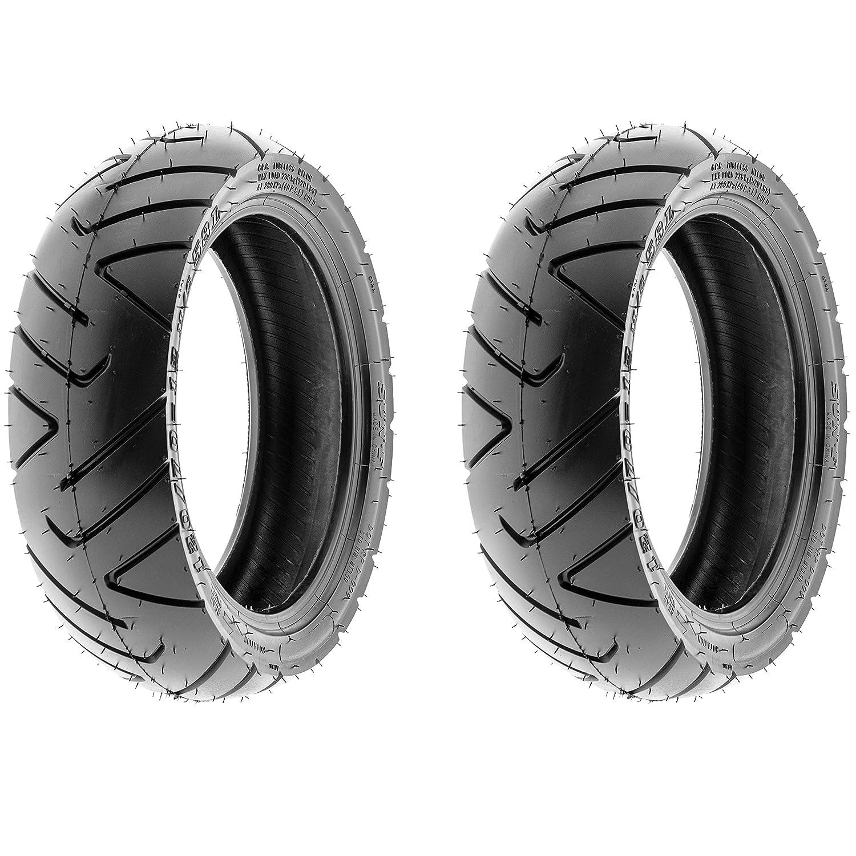 SunF 130/60-13 6 Ply ATV UTV A/T Tires D009, [Set pair of 2] LCF1|D009|130/60-13||x2