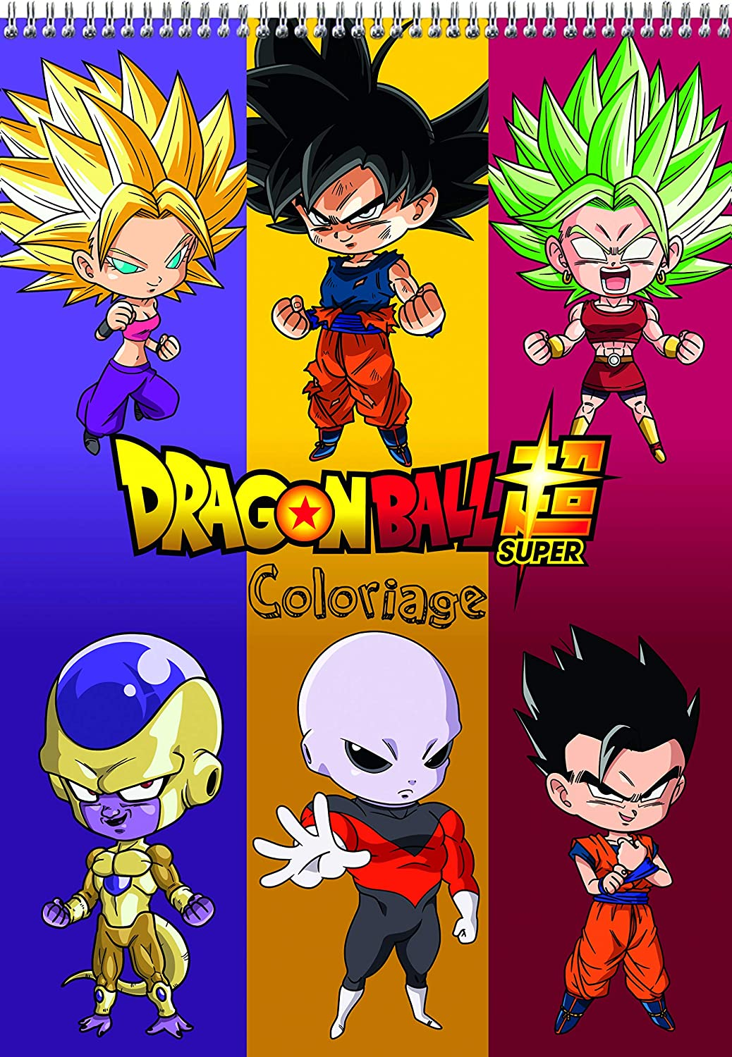 Clairefontaine 812802c Un Bloc De Coloriage Dragon Ball Super 84 Pages Imprimees 21x29 7 Cm Couverture Visuel Aleatoire Amazon Fr Fournitures De Bureau