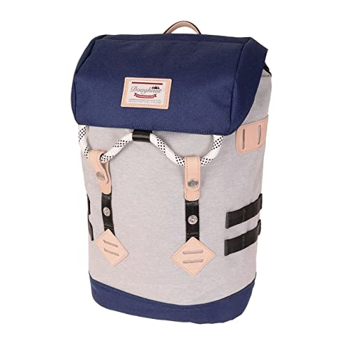 DOUGHNUT Colorado Small, Mochila Unisex Adultos, Multicolor (Denim X Charcoal) 36x24x45 cm