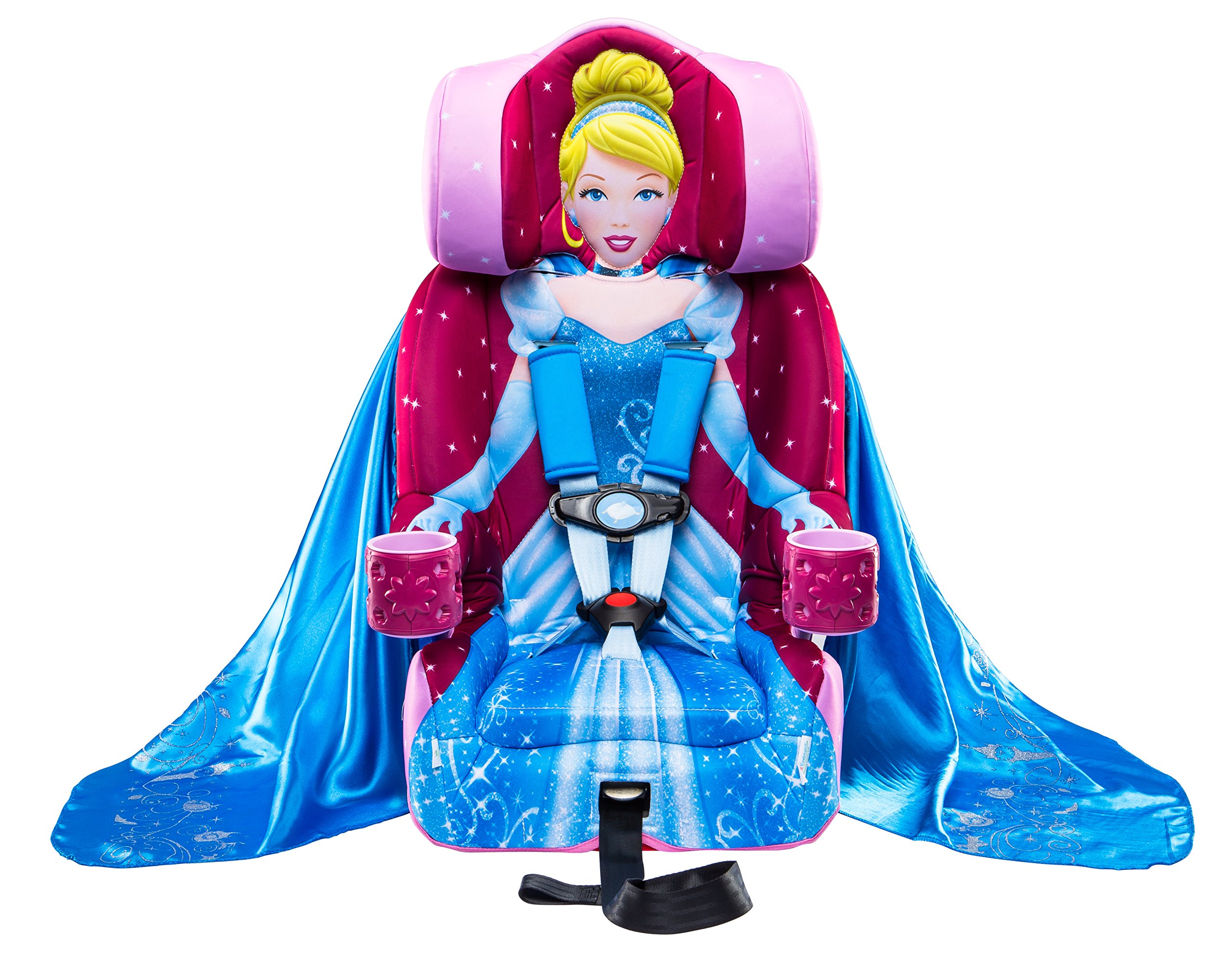 Amazon.com : KidsEmbrace Cinderella Booster Car Seat, Disney ...