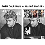 George Michael Calendar 2019 + George Michael Refrigerator Magnet
