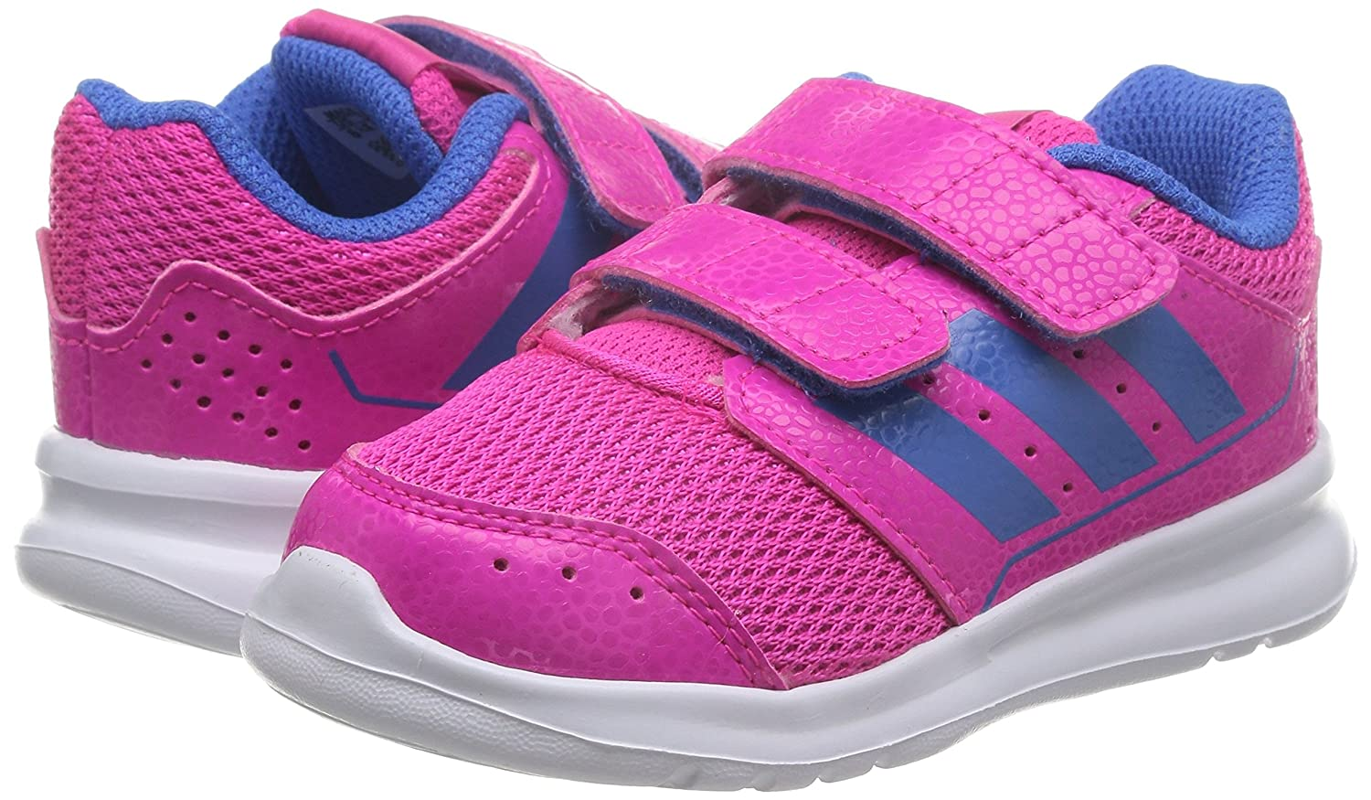 buy popular 38603 d55d3 adidas Unisex Kids  Lk Sport 2 Cf I Multisport Outdoor Shoes, (Shock Pink  S16 Ray Blue F16 Ftwr White), 6 Child UK 23 EU  Amazon.co.uk  Shoes   Bags