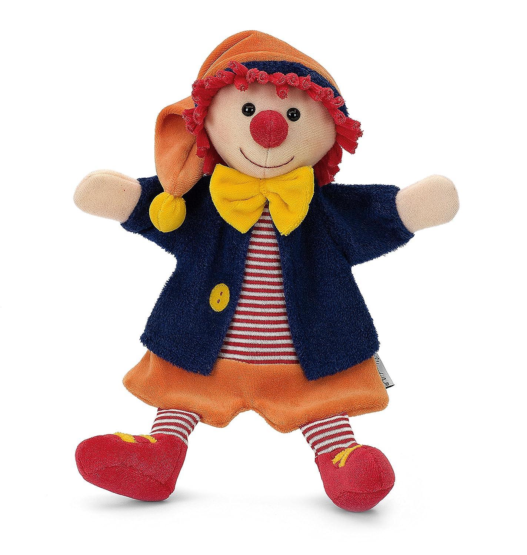 Sterntaler Handpuppe Clown, 30 x 23 x 10 cm, Bunt: Amazon.de: Spielzeug