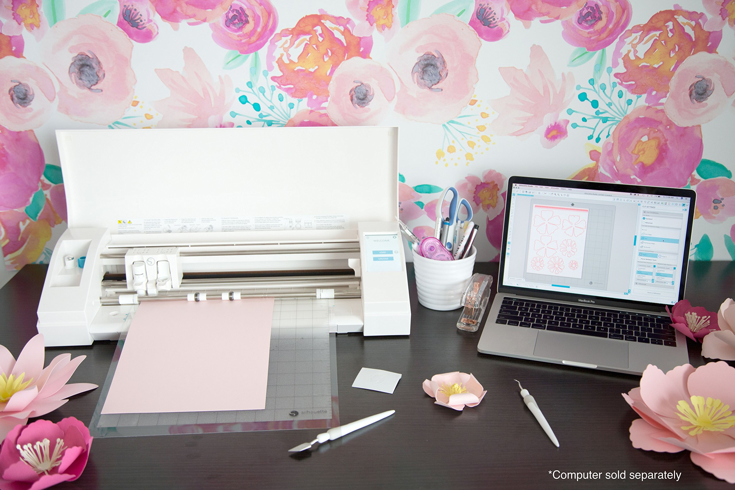 Silhouette CAMEO 3 Wireless Cutting Machine - Ultimate Starter Bundle by Silhouette America (Image #6)