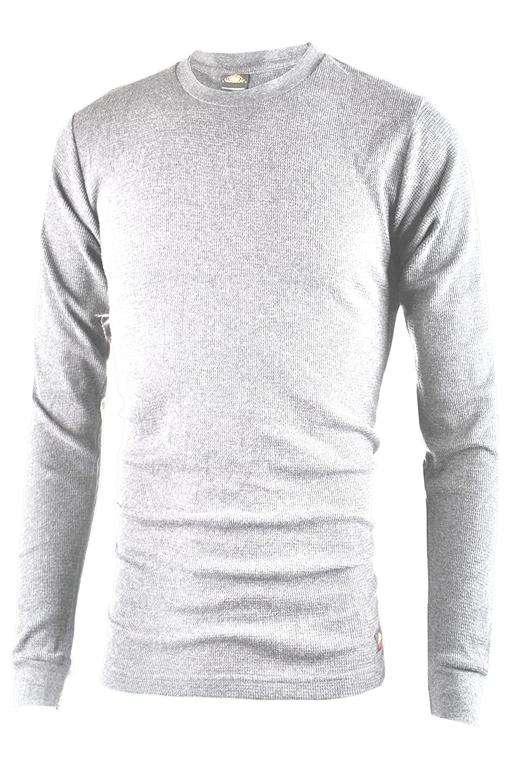 Ollie Arnes Men's Long Sleeve Heavy Warm Thermal Crew Neck Shirt 100% Cotton Top