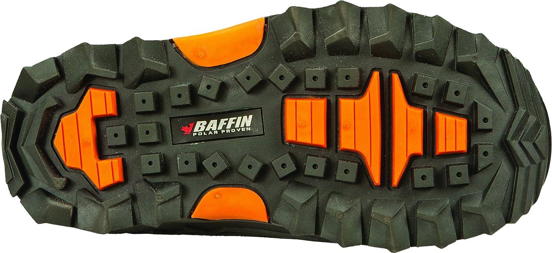 Baffin EPIC-J001-BAK-3; Eiger Youth Boots Black//Orange Size 03 Made by Baffin