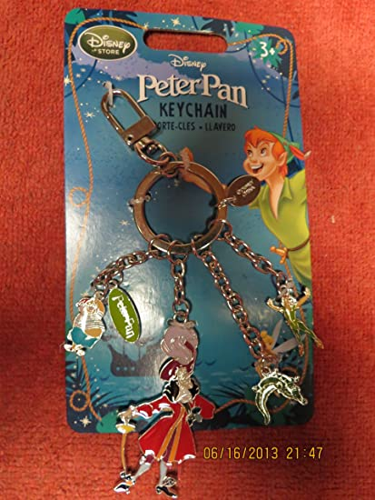Amazon.com: Disney Peter Pan Keychain: Toys & Games