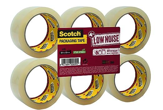 24 opinioni per Scotch S5066T6 Nastro da Imballo, 50 mm x 66 m, Trasparente