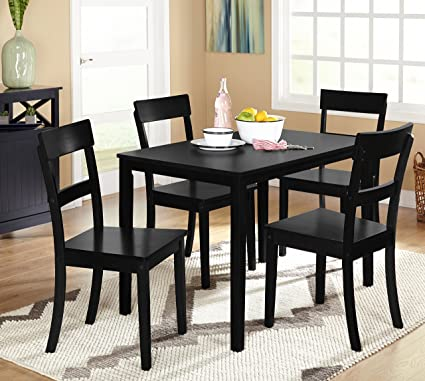 Target Marketing Systems Ian Collection 5 Piece Indoor Kitchen Dining Set  With 1 Dining Table And