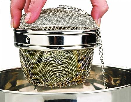 IBILI 779510 - Bola De Malla para Especias 10 Cm