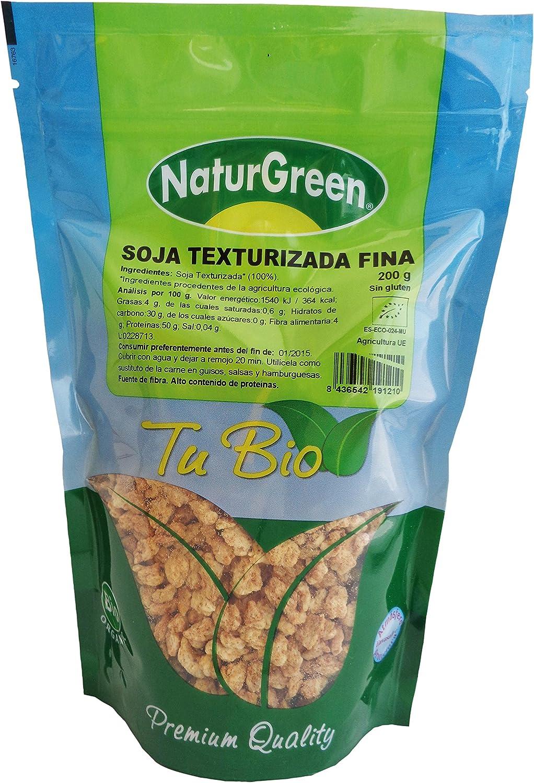 NaturGreen Soja Texturizada Fina, 200 g: Amazon.es: Hogar