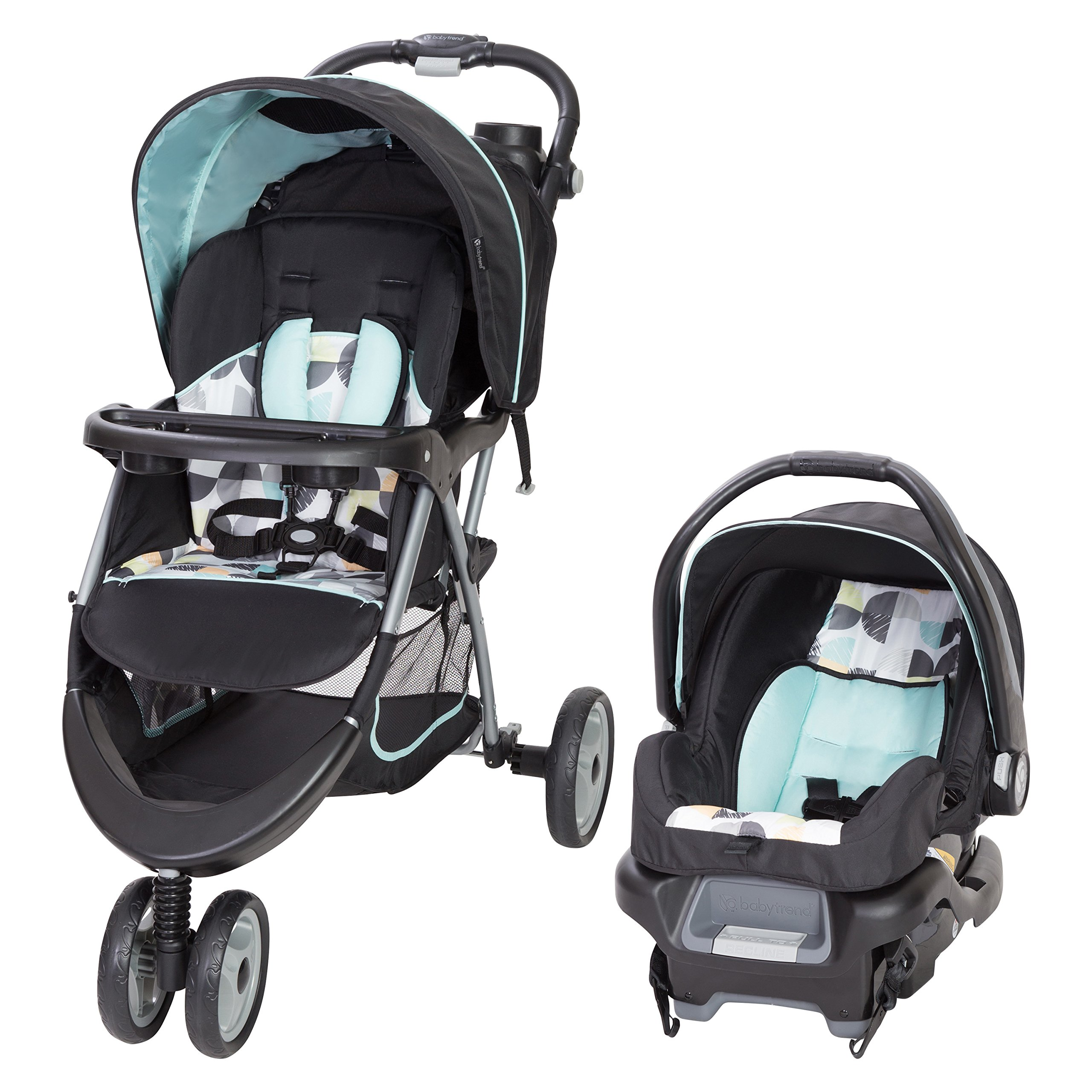 Baby Trend EZ Ride 35 Travel System, Doodle Dots by Baby Trend