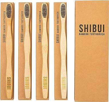 Cepillo de dientes de bambú por Shibui Design. Cepillo de dientes ...