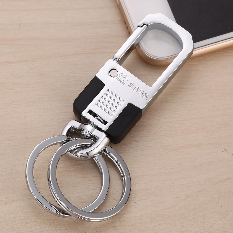 XiaoGao_ Cadeau de taille auto Keychain porte-clés,A278