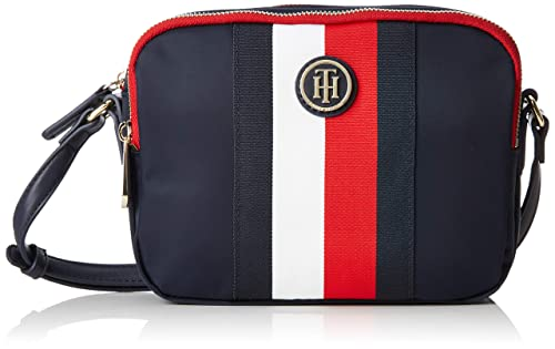 60c008c7fb12 Tommy Hilfiger Poppy Crossover Stp, Women's Cross-Body Bag, Blue (Corporate)