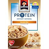 Quaker Select Starts Protein Instant Oatmeal, Banana Nut, Breakfast Cereal, 6 Packets Per Box (Pack of 6)