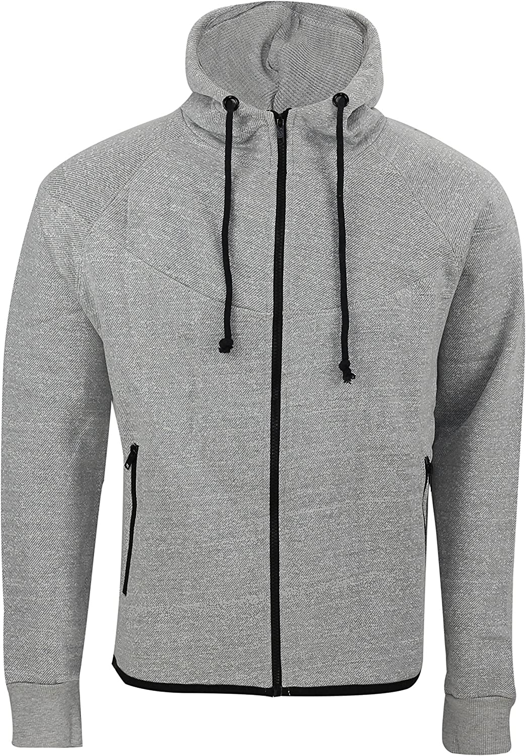 Jack /& Danny/'s Clothing Full Zip Hooded Tracksuit Drawstring Active Sportswear