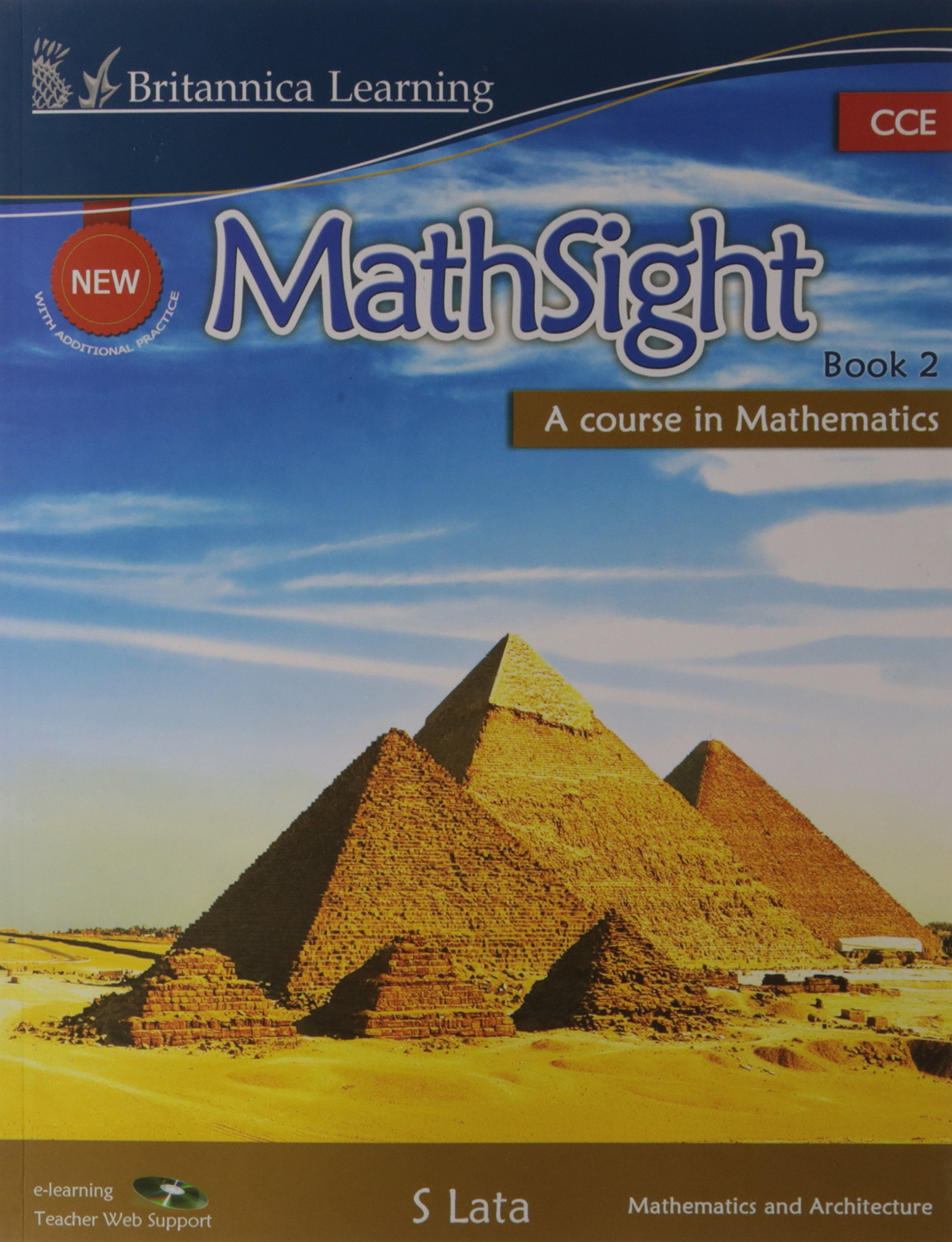 Buy New MathSight (CCE Edition) Class - 2 Book Online at Low Prices