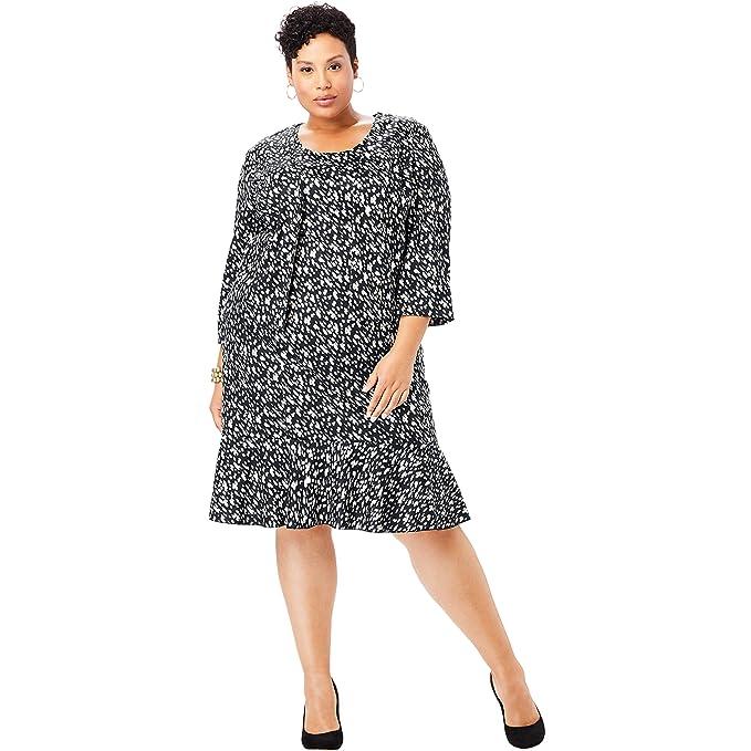 Amazon.com: Jessica London Ponte - Vestido para mujer (talla ...