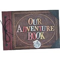 La Scrapería Album Our Adventure Book Version Letras Impresas - 20 Hojas