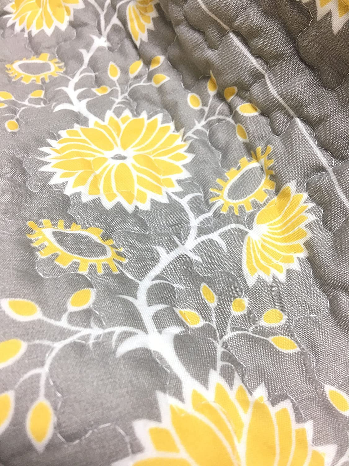 Amazon Cozy Line Home Fashions Anya Floral Bedding Quilt Set