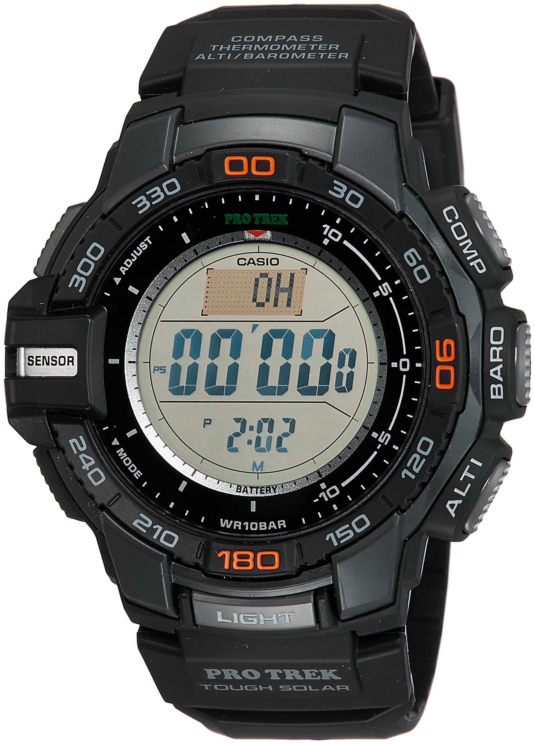 Casio Men's Pro Trek PRG-270-1 Tough Solar Triple Sensor Multifunction Digital Sport Watch by Casio (Image #1)