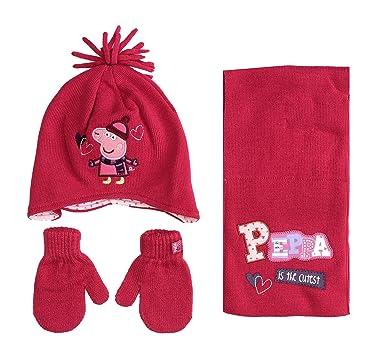 189980b2189 Peppa Pig - Ensemble bonnet