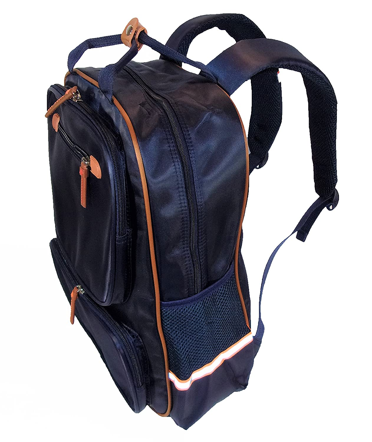 47bdaf44af Amazon.com  Waterproof School Backpack Assorted for Boys and Girls. Tear  resistant for school and travel. Made of Nylon and Fluorescent Strips.