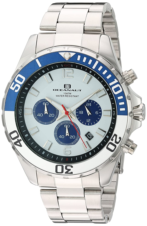 Oceanaut   -Armbanduhr  Analog  Quarz Edelstahl OC2521_White -Silver