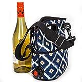 The Original Turkey Vulture Wine Bag (Diamond Pattern)