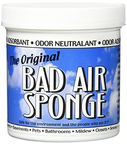 The ORIGINAL Bad Air Sponge Odor Absorbing Neutralant Pet stain and odor remover