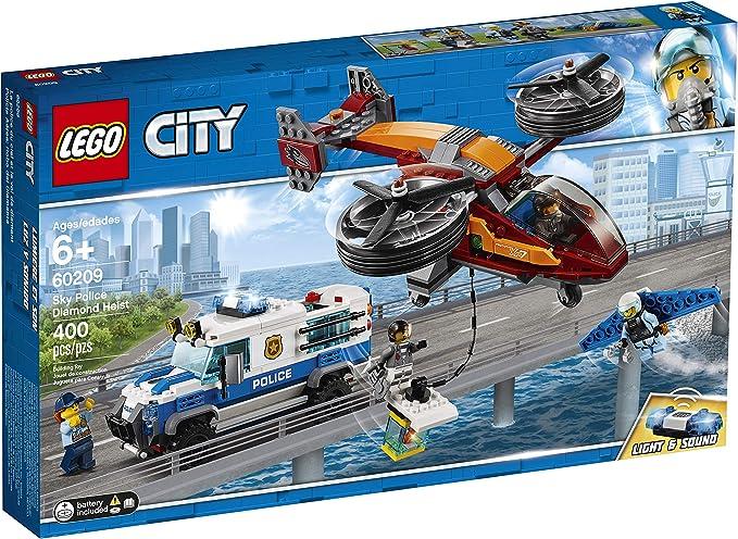 LEGO City Sky Police Diamanten Raubüberfall 60209 Bauset, Neu 2019 (400 Teile)