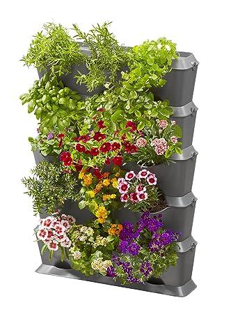 Basis Set Vertikal Mit Bewässerung: Pflanzenwand Zur Begrünung Von Balkon/ Terrassen