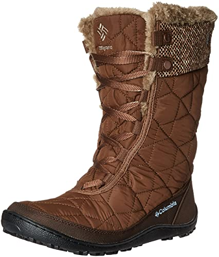 3609d2edb4f6 Columbia Women s Minx Mid II Omni-Heat Woven Snow Boot